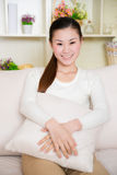 Young asian woman at home Stock Photo