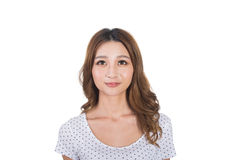 Young Asian woman royalty free stock photo