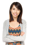 Young asian woman smile Royalty Free Stock Photography