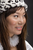 Young asian woman smiling Stock Photography