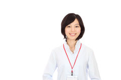 Young asian woman smiling Royalty Free Stock Photography