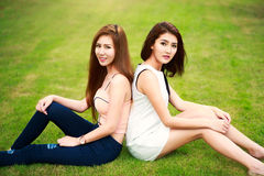 Young asian woman Royalty Free Stock Photography