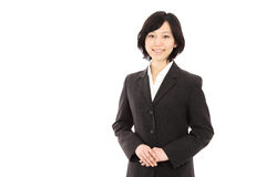 Young Asian women link hands Royalty Free Stock Image