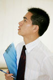 Young asian working in office Stock Photography