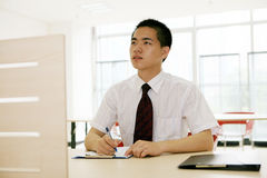 Young asian working in office Stock Photos