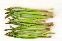 Young asparagus Royalty Free Stock Images