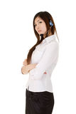 Young assistant business lady Stock Photography