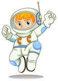 A young astronaut Stock Photo