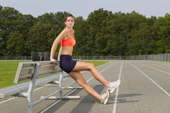 Young Athlete Stock Image