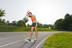 Young Athlete Royalty Free Stock Photography
