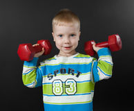 Young athlete Royalty Free Stock Image