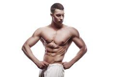 Young athlete bodybuilder man Stock Image