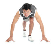 Young athlete man Royalty Free Stock Image