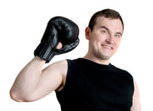 Young athletic man Stock Photo