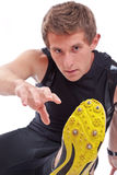 Young Athletic Man Royalty Free Stock Photos