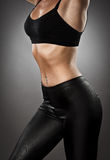 Young athletic woman Stock Image