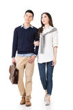 Young attractive Asian couple Royalty Free Stock Images