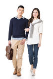 Young attractive Asian couple Stock Photo