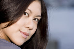 Young Attractive Asian Woman Stock Photo