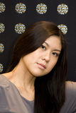 Young Attractive Asian Woman Stock Images