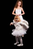 Two pretty ballerina's Royalty Free Stock Photography