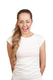 Young attractive blonde Royalty Free Stock Photography