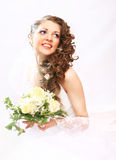 Young attractive bride. Stock Image