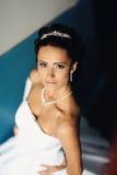 Young attractive bride Royalty Free Stock Photos