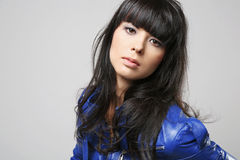 Young attractive brunette. Royalty Free Stock Images
