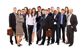 Young attractive business people stock photos