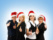 Young attractive business people Stock Image