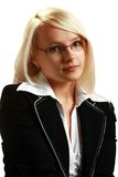 A young attractive business woman Stock Image