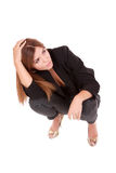 Young attractive business woman Royalty Free Stock Images