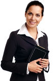 Young attractive business woman. Royalty Free Stock Image