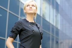 A young and attractive business woman Royalty Free Stock Images