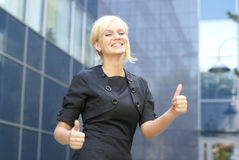 A young and attractive business woman Royalty Free Stock Image