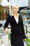 Young Attractive Business Woman Stock Photos