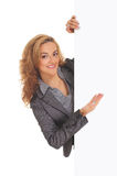 Young and attractive business woman Royalty Free Stock Photos