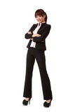 Young attractive business woman Royalty Free Stock Photos