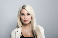 Young attractive business woman Royalty Free Stock Photo