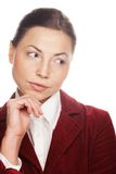 Young attractive business woman. Stock Image