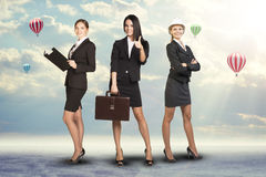 Young attractive business women Royalty Free Stock Images