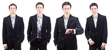 Young Attractive Businessman Stock Image