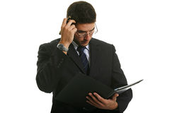 Young Attractive Businessman Royalty Free Stock Image