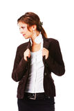 Young attractive businesswoman Royalty Free Stock Image