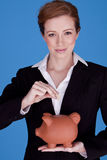 Young attractive Businesswoman. Stock Images
