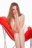 Young attractive caucasian russian thirties woman Stock Photo