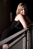 Young attractive caucasian twenties woman outdoor Royalty Free Stock Photos