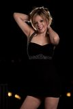 Young attractive caucasian twenties woman outdoor Stock Photos