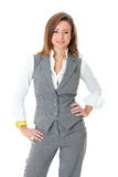 Young attractive and confident businesswoman Royalty Free Stock Photography